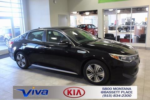 2017 Kia Optima Hybrid for sale in El Paso, TX