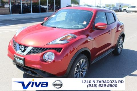 2017 Nissan JUKE for sale in El Paso TX