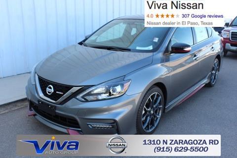 2017 Nissan Sentra for sale in El Paso, TX