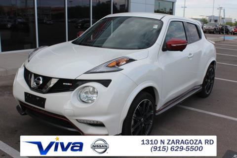 2016 Nissan JUKE for sale in El Paso, TX