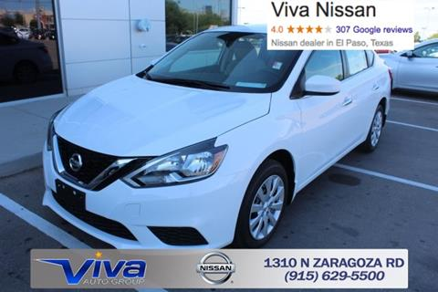2017 Nissan Sentra for sale in El Paso, TX