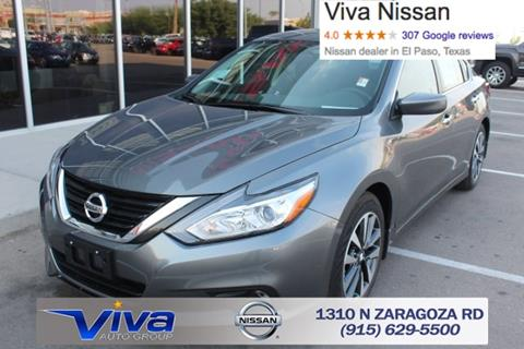 2017 Nissan Altima for sale in El Paso TX