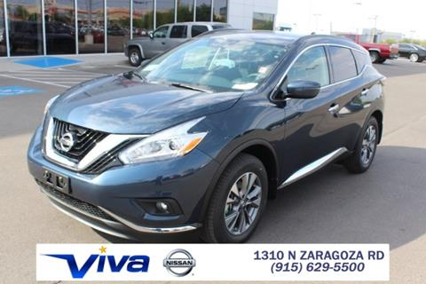 2017 Nissan Murano for sale in El Paso TX