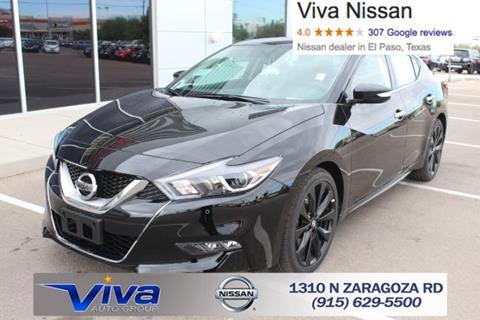 2017 Nissan Maxima for sale in El Paso TX
