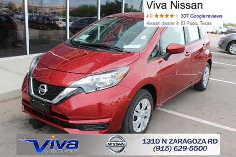 2017 Nissan Versa Note for sale in El Paso TX