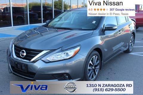 2017 Nissan Altima for sale in El Paso TX