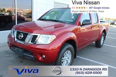 2017 Nissan Frontier for sale in El Paso, TX