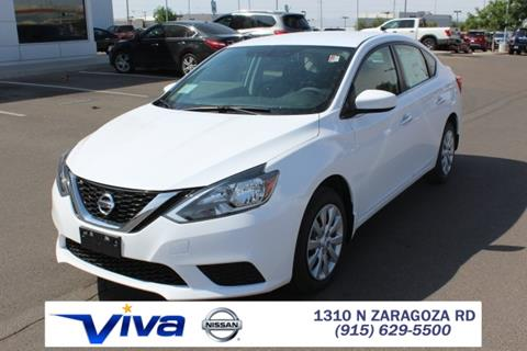 2017 Nissan Sentra for sale in El Paso TX