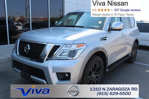 2017 Nissan Armada for sale in El Paso TX