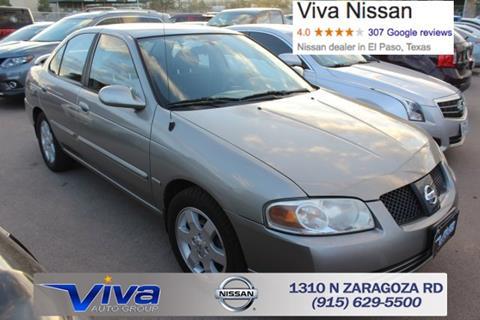2006 Nissan Sentra for sale in El Paso TX