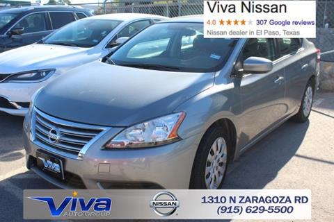 2014 Nissan Sentra for sale in El Paso TX