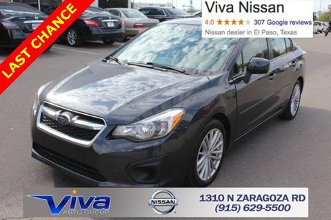 2013 Subaru Impreza for sale in El Paso, TX