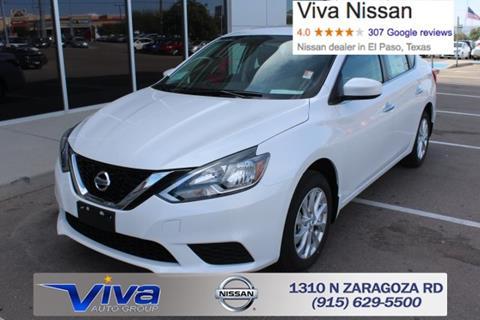 2017 Nissan Sentra for sale in El Paso TX