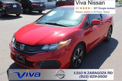 2015 Honda Civic for sale in El Paso TX