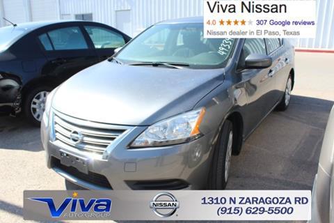 2015 Nissan Sentra for sale in El Paso TX