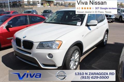 2014 BMW X3 for sale in El Paso TX