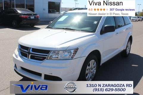 2016 Dodge Journey for sale in El Paso TX