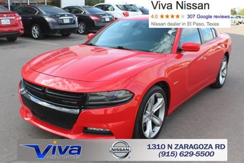 2016 Dodge Charger for sale in El Paso, TX