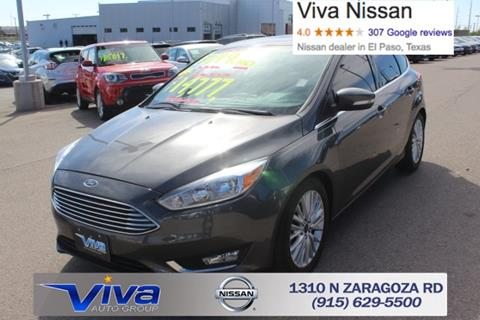 2015 Ford Focus for sale in El Paso TX