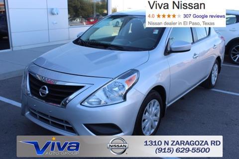 2015 Nissan Versa for sale in El Paso, TX