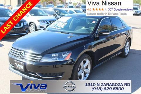 2015 Volkswagen Passat for sale in El Paso TX