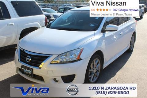 2014 Nissan Sentra for sale in El Paso TX