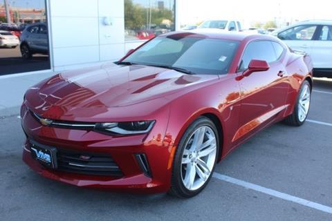 2016 Chevrolet Camaro for sale in El Paso TX