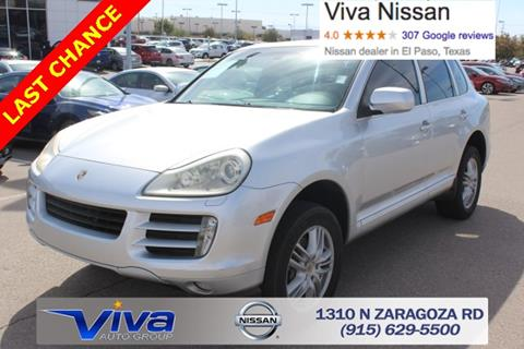 2009 Porsche Cayenne for sale in El Paso TX