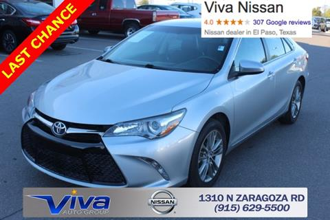 2016 Toyota Camry for sale in El Paso TX
