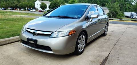 2006 Honda Civic for sale in Fredericksburg, VA