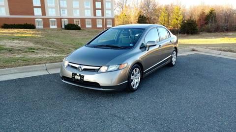 2008 Honda Civic LX for sale at Mafhh Autos LLC in Fredericksburg VA