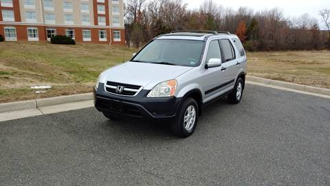 2003 Honda CR-V EX for sale at Mafhh Autos LLC in Fredericksburg VA