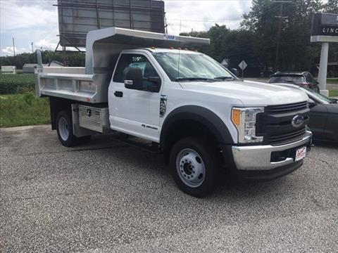 2017 Ford F-550 for sale in North Kingsville, OH