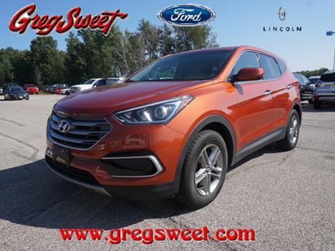 2017 Hyundai Santa Fe Sport for sale in North Kingsville, OH