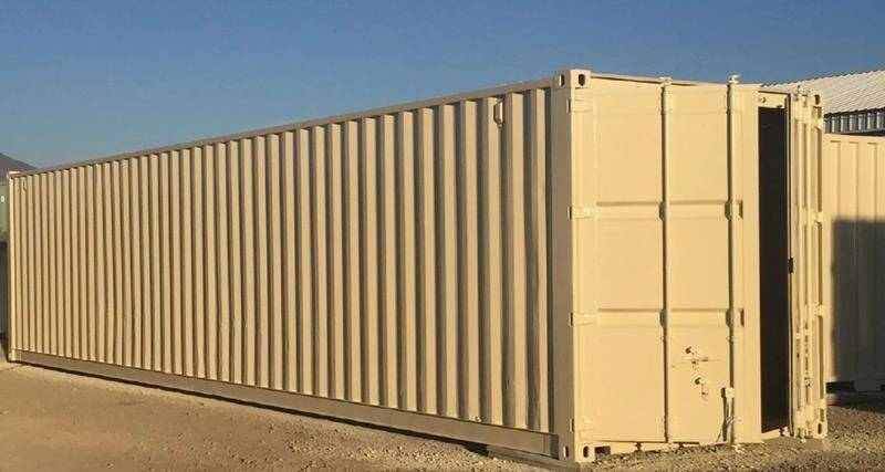 """""""STORAGE CARGO CONTAINER"""" PRICE INCLUDES LOCAL DELIVERY for sale at Brand X Inc. in Mound House NV"""