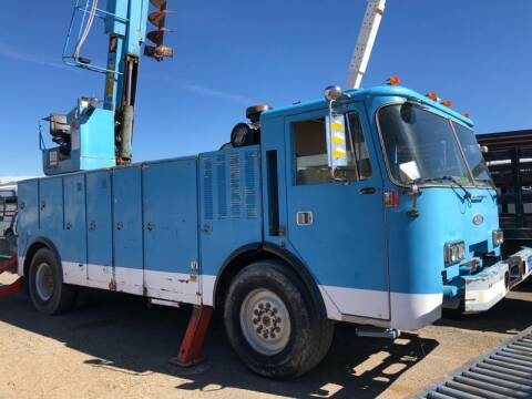 1986 Pierce AUGER for sale at Brand X Inc. in Mound House NV
