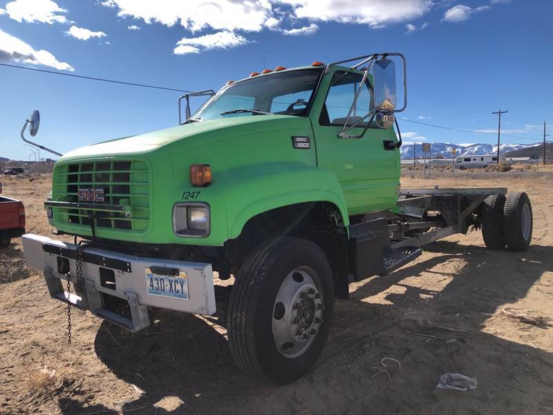 1997 GMC C7500 for sale at Brand X Inc. in Mound House NV