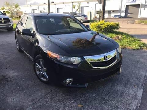 2011 Acura TSX for sale in Hallandale Beach, FL