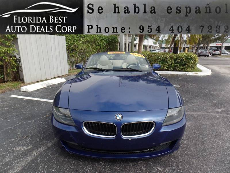 2006 Bmw Z4 3 0i In Hallandale Beach Fl Florida Best Auto Deals Corp