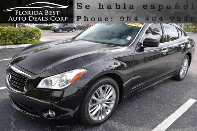 Infiniti M In Hallandale Beach FL Florida Best Auto Deals - Florida infiniti