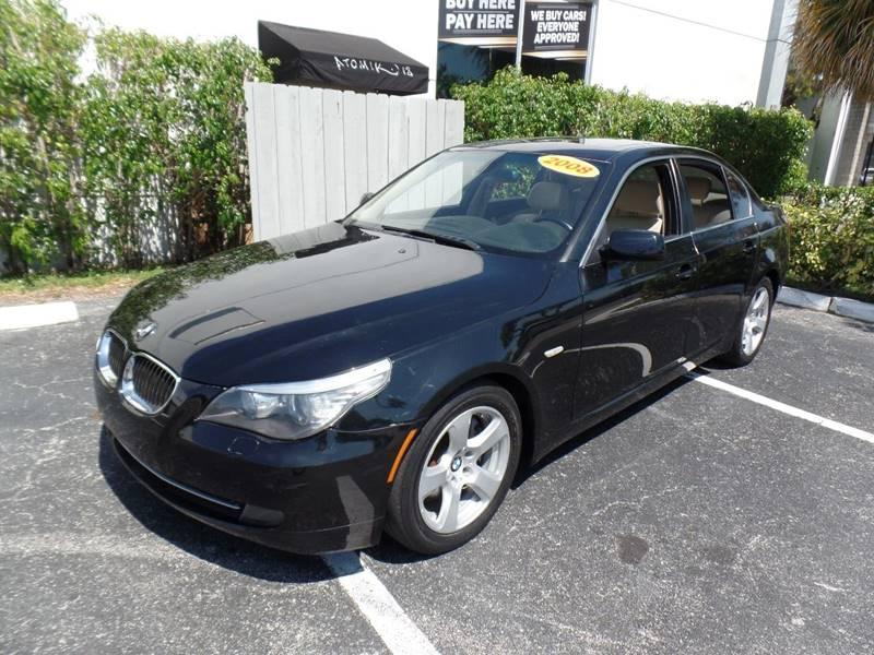 2008 BMW 5 Series 535i In Hallandale Beach FL - Florida Best Auto ...