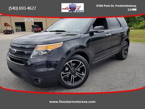 2014 Ford Explorer for sale in Fredericksburg, VA