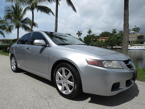 2004 Acura TSX for sale in Fort Lauderdale, FL