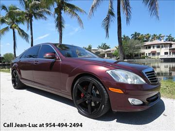 2007 Mercedes-Benz S-Class for sale in Fort Lauderdale, FL