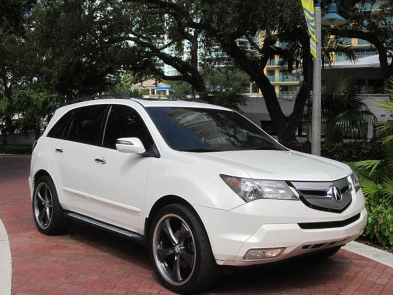 Acura MDX SHAWD WTech In Fort Lauderdale FL Choice Auto - Acura of fort lauderdale