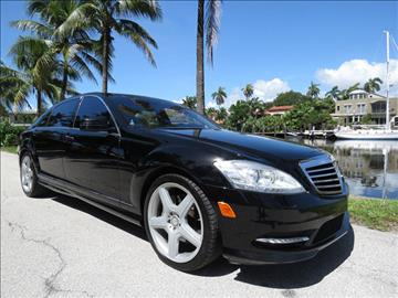 2013 Mercedes-Benz S-Class for sale in Fort Lauderdale, FL