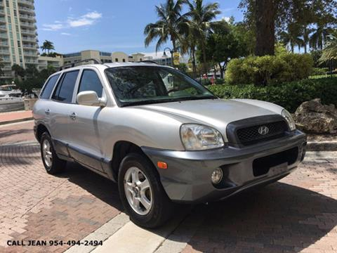 2003 Hyundai Santa Fe for sale in Fort Lauderdale, FL