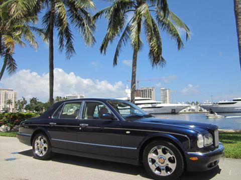 2002 Bentley Arnage for sale in Fort Lauderdale, FL