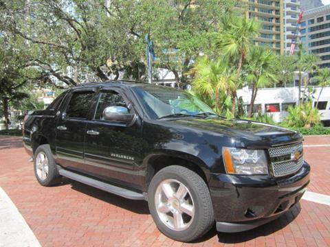 2013 Chevrolet Black Diamond Avalanche for sale in Fort Lauderdale, FL