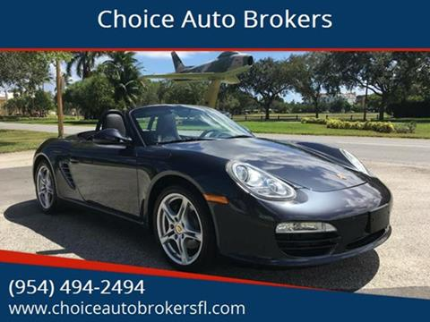 2011 Porsche Boxster for sale in Fort Lauderdale, FL